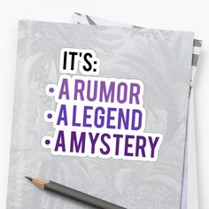 """""""It's A Rumor, A Legend A Mystery - Anastasia Musical"""" Stickers by kae-ly 