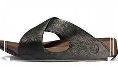 1781eaded Mens FitFlop Xosa Diving Black Slipper Clearance