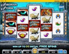 Spielautomat Siberian Storm - Der Spielautomat Siberian Storm ist ein Slot von IGT, der Spielern beeindruckende 720 Gewinnchancen bietet.  - http://www.online-kasino-spielautomaten.com/spiele/spielautomat-siberian-storm