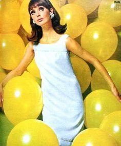 theswinginsixties:  Model Ina Balke, April 1966.