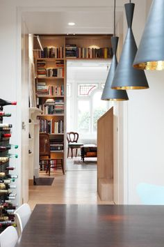 book tower house - book and wine