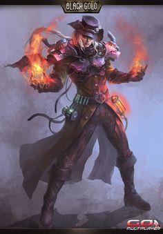 La clase Conjurer llega a Black Gold Online | Go Multiplayer