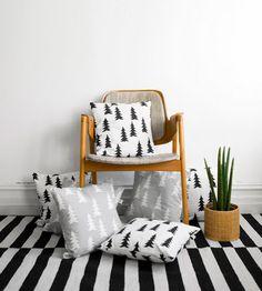 pine tree pillows