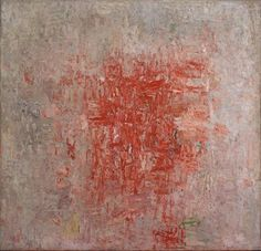 Philip Guston, Zone, 1953-1954, oil on canvas