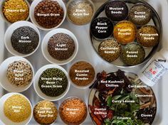 Anu Ganesh's Spice Box and ingredient photo
