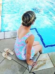 Lilly Pulitzer Delia Shift in Lobstah Roll, via dressyourguests