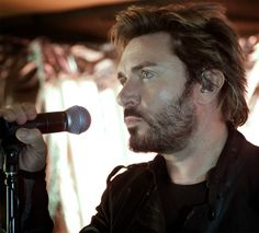 Simon Le Bon, lead singer of Duran Duran.