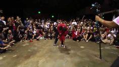 Criança desafia o melhor dançarino de rua para uma competição e leva a p...