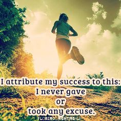 never gave any excuse
