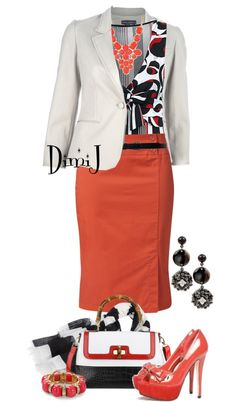 """Office Look"" by dimij ❤ liked on Polyvore"
