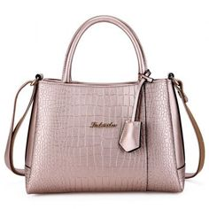 SHARE & Get it FREE   Simple Embossing and Metal Design Women's Tote BagFor Fashion Lovers only:80,000+ Items·FREE SHIPPING Join Dresslily: Get YOUR $50 NOW!