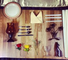 #rustic elegance #tablescape grid