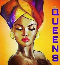 Black Queens Black Girl Art, Black Women Art, Black Girl Magic, African American Art, African Art, Black King And Queen, Tribe Of Judah, Black Art Pictures, Natural Hair Art