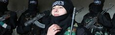 Veinteañera yihadista satisface a 152 soldados