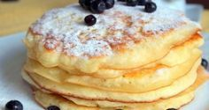 Type: Breakfast Time: 30 minutes Difficulty Level: Easy Servings: 5 Delicious pancakes with jam or honey is a perfect solution to the issue with Healthy Diet Recipes, Vegetarian Recipes, Czech Desserts, Cookie Recipes, Dessert Recipes, Sous Vide Cooking, Tasty Pancakes, Czech Recipes, Baking Cupcakes