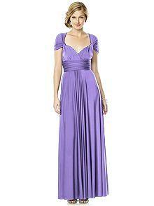 Twist Wrap Dress : Long http://www.dessy.com/accessories/maracaine-jersey-twist-dress-long/