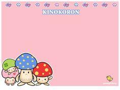 Kinokoron mushroom stationery