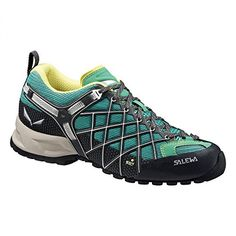 Salewa Womens Wildfire Vent Shoes Carbon  Assenzio 9  Hiking Sock Bundle * This is an Amazon Affiliate link. Want additional info? Click on the image.
