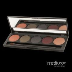 La La's Court Mineral Eye Shadow Palette, is a combination of five rich mineral eye shadows exclusive to the Motives line. Perfect for day and night, this palette features five complementary colors that can be mixed and matched to create a look for all occasions. Mineral Eye Shadow Palette comes conveniently packaged in a sleek, durable compact, this versatile palette is great for travel. You can order on www.shop.com/exclusively4you
