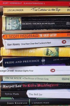 Some of my favourite classic literatures