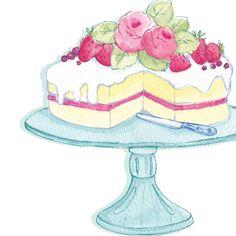 April Rose © April Rose Illustration/Siobhan Harrison. An Illustration I did for a leading Craft Company.