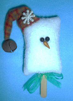 Let it Snow with Ornaments! by Sandi Ramirez on Etsy