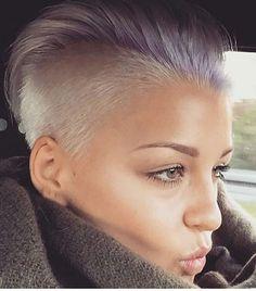 Badass Hair by @panovaev • @viiviikoch  #badasshaircut #hairinspo…