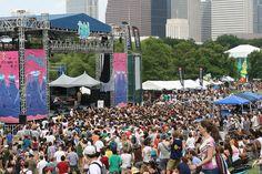 This week this week!!!!  Free Press Summerfest, Houston, TX