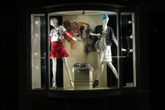 Brown Focus windows 2013 by Christianna Economou London #VisualMerchandising