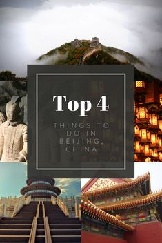 Here are our top 4 things to do in Beijing, China Stuff To Do, Things To Do, Temple Of Heaven, South Gate, Kunming, Summer Palace, Ancient Buildings, Main Attraction, Beijing China