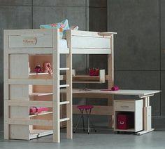 cama-loft-escritotio: otra disposición