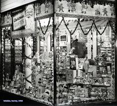 Woolworths Christmas display