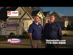 Dan Jape Reliable Heating and Air 2014 Commercials