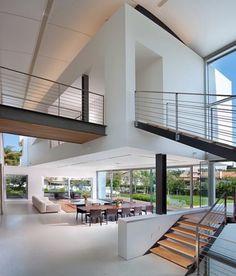 modern staircase by Elad Gonen & Zeev Beech
