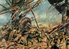 Asalto a la acería Octubre Rojo, Stalingrado, 23 Octubre 1942