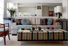 O melhor sofá para a sala pequena