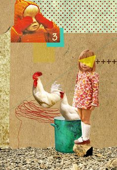 collage by Mirella Nania