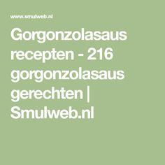 Gorgonzolasaus recepten - 216 gorgonzolasaus gerechten | Smulweb.nl Math Equations
