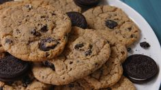 Oreo Chip Cookies: This simple swap is the best way to upgrade chocolate chip cookie dough...the possibilities are endless!