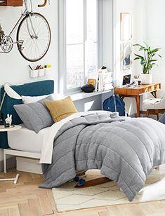 dorm Oversized Furniture, Oak Shelves, Pottery Barn Teen, Modern Kids, West Elm, Adjustable Shelving, Comforters, Living Room, Twin Xl