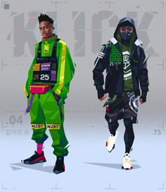 KLICK: research concepts, Azamat Khairov Character Concept, Character Art, Concept Art, Concept Clothing, Copic Drawings, Dancing Drawings, Black Anime Characters, Cyberpunk Character, Black Cartoon