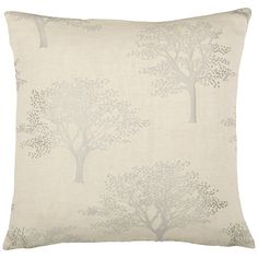 Buy Natural John Lewis Oakley Trees Cushion Cover from our Cushions range at John Lewis & Partners.