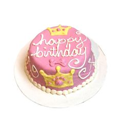 This Princess Doggy Cake is the perfect treat for celebrating your dog's birthday! #yourdogwilldigit