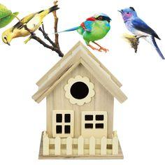 Nest DOX Nest House Wood Bird House Bird House Bird Box Bird Box Wooden Box for sale online Wooden Bird Houses, Wooden Boxes, Cheap Bird Cages, Wood Bird Feeder, Bird Boxes, Wooden Dollhouse, Creative Walls, Miniature Furniture, Wood Colors