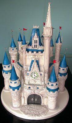 12 Stunningly Beautiful Disney Cakes | Marchaelary