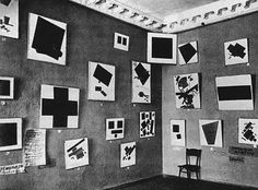 First Suprematist Exhibition, St. Petersburg - 1915.