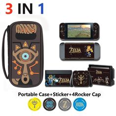 Lovely Novelty - pick up novelty items just for your amazing online shopping Novelty Items, 4 In 1, Legend Of Zelda, Travel Accessories, Nintendo Switch, Cap, Stickers, Games, Stuff To Buy