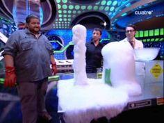 El hormiguero: flipy el hielo seco 20/04/09 - YouTube