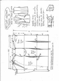 Patrón chaleco elegante de vestir Patrón para hacer un elegante chaleco de vestir para mujer, combinable con faldas, pantalones e incluso vestidos. Tallas desde la 36 hasta la 56. Talla 36: Talla 38: Talla 40: Talla 44: Talla 46: Talla 48: Talla 50: Talla 52: Talla 54: Talla 56: Fuente:http://www.marlenemukai.com.br/ Patrón chaleco acolchadoPatrón …