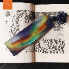 Saphira  Handpainted Bookmark